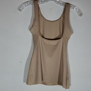 Cupid Beige Body Shaping Camisole NWOT Sz L